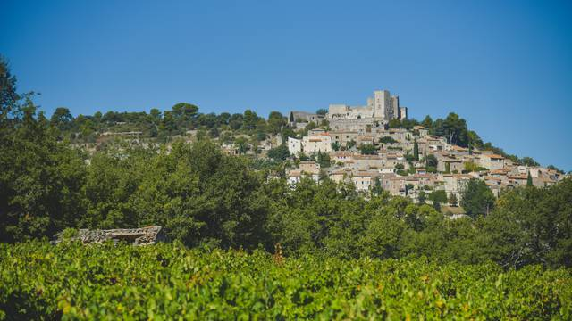 Lacoste, hight village of the Luberon