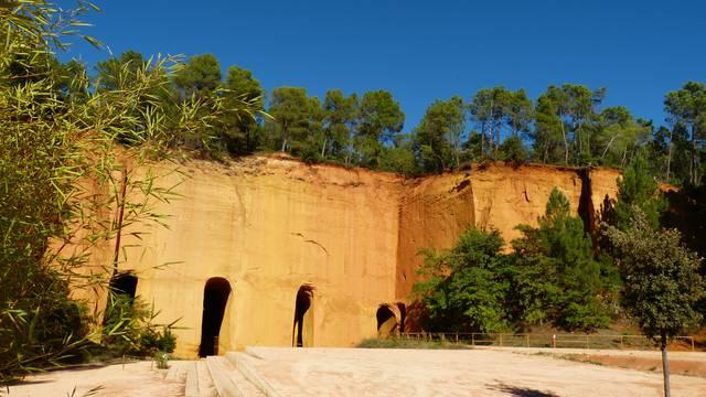 Mines de bruoux | Ochres | Luberon