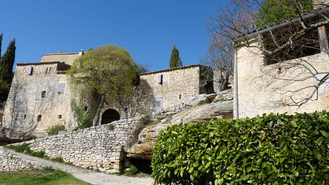 Sivergues, village du Luberon