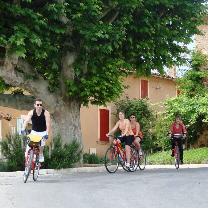 Itinéraire des ocres à vélo - Luberon